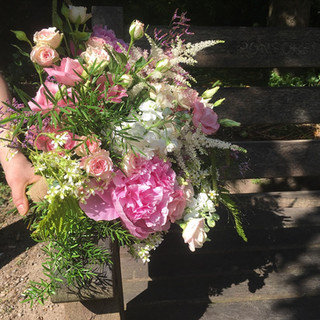Stunning Summer Flower Wedding Bouquet