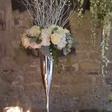 Gorgeous Wedding Venue Flowers