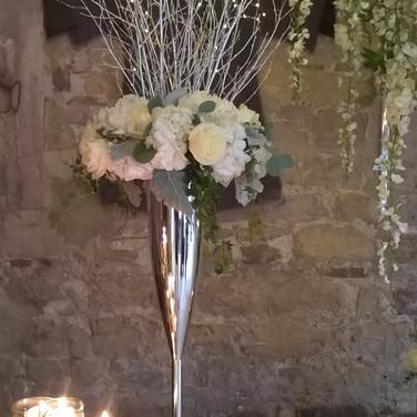 Gorgeous Wedding Venue Flowers