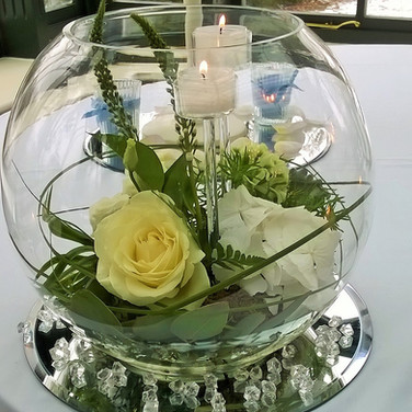 Classic Style Wedding Table  Fish Bowl