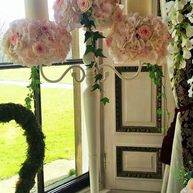 Pretty Wedding Candelabra