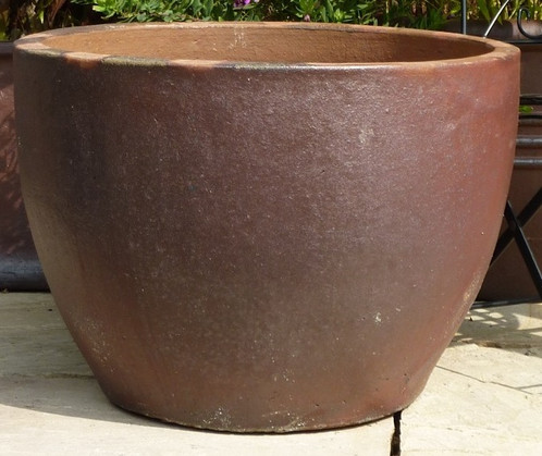 Rustic hanoi pot free uk delivery palm trees for sale shop large rustic garden pots hanoi pot 3 sizes workwithnaturefo