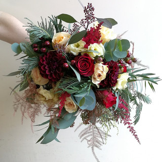 Gorgeous Autumn Wedding Bouquet