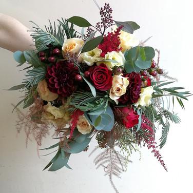Gorgeous Autumn Wedding Bouquet