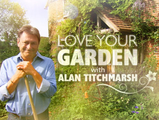 Pleasure and privilege to supply 'Love Your Garden' with Alan Titchmarsh