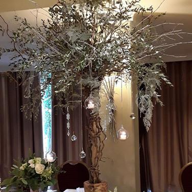Wedding Winter Tree