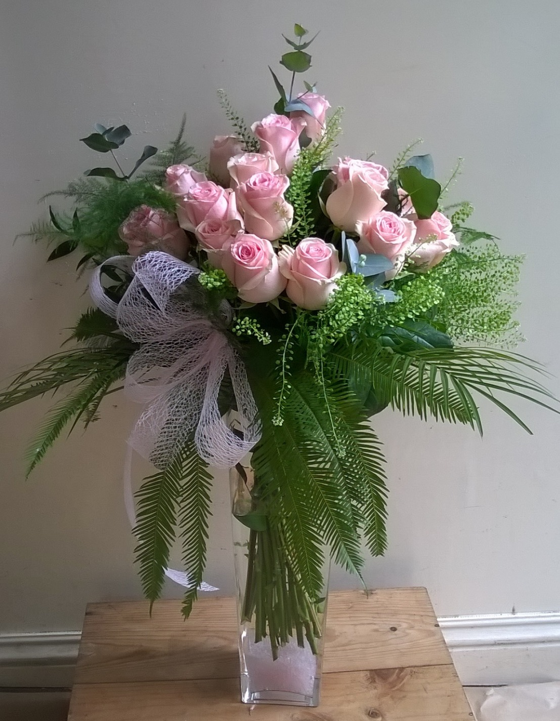 Rose Vase Arrangement