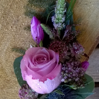 Country style ladies Corsage