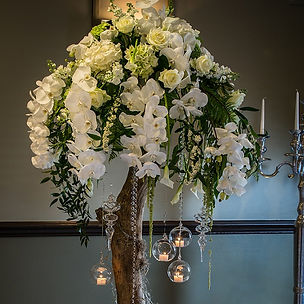 Wedding Venue Flowers. Flower Design. Ripon