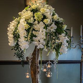 Wedding Venue Flowers. Flower Design. Ripon