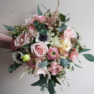 Bride's Wild Bouquet