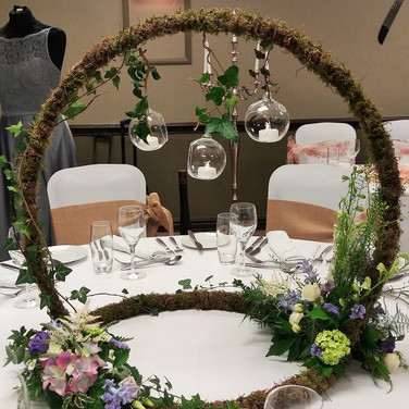 Wedding Table Moongate.