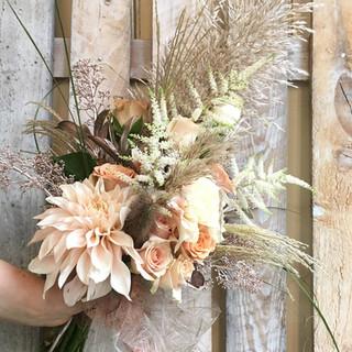 Gorgeous Contemporary Wedding Bouquet