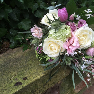 Summer Style Bridesmaid Hand-tied Bouquet