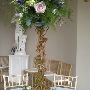Rustic Wedding Floral Tree