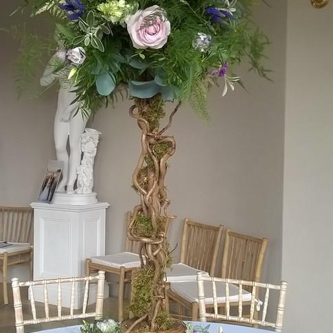 Rustic Wedding Floral Tree