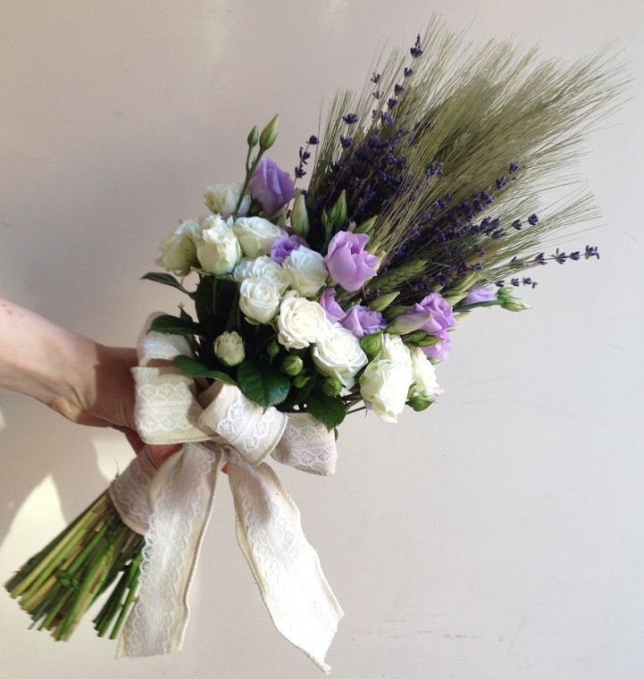 Country Hand Tied Wedding Bouquet Gorgeous Flowers In Ripon And North Yorkshire Flower Design