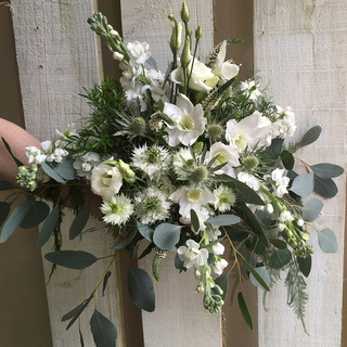 Natural Bride's wedding Bouquet
