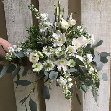 Natural Bride's wedding Bouquet