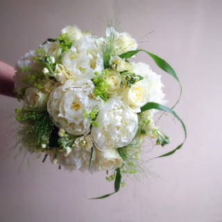 Scented Peony Wedding Bouquet