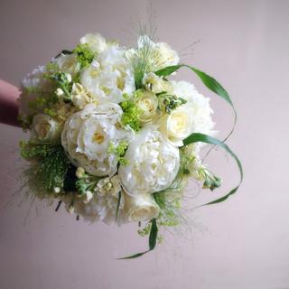Scented Peony Wedding Bouquet