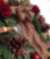 Christmas door wreaths