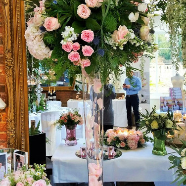 Gorgeous Tall Wedding Table Flowers