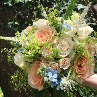 Romantic summer Bride's Bouquet