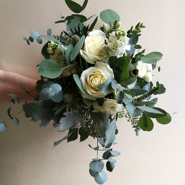 Natural Style Wedding Bouquet