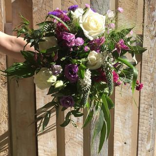 Bride's Wild Wedding Bouquet