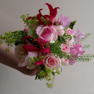 Perfectly Pink Bridesmaid Bouquet