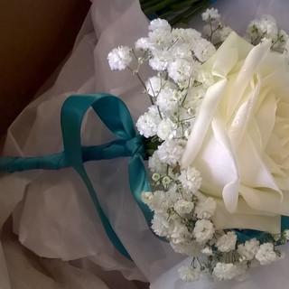 Bridesmaid Rose Wand