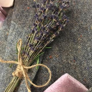 Men's Lavender Buttonhole