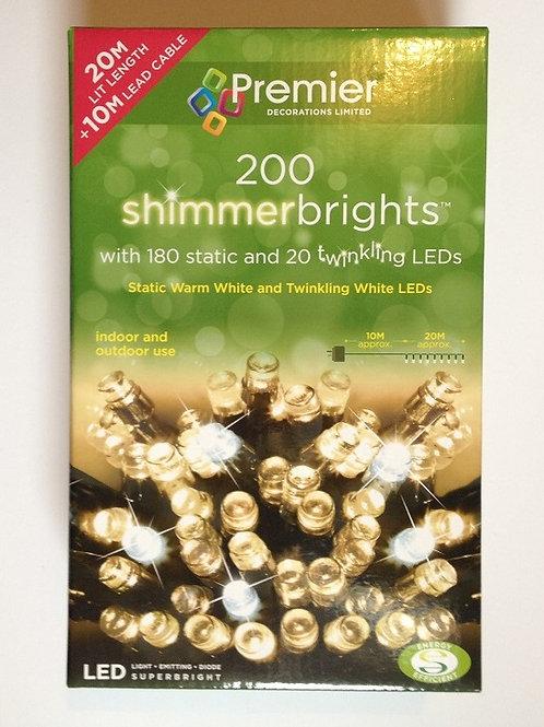 PREMIER 200 SHIMMERBRIGHTS LEDS