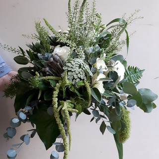 Wild Wedding Bouquets