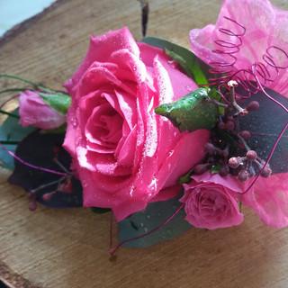 Ladies Rose Corsage
