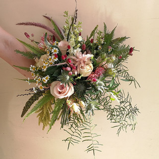 Beautiful Wild Wedding Bouquet