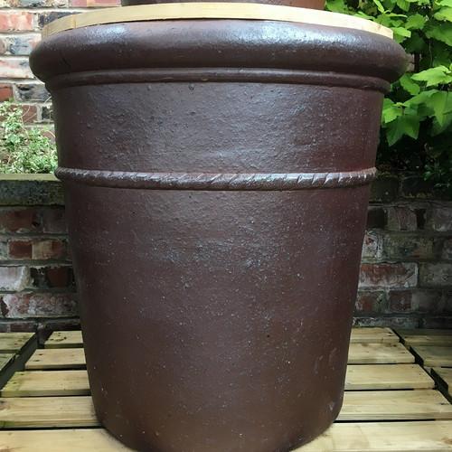 Exceptionnel Large Garden Stone Pots ...