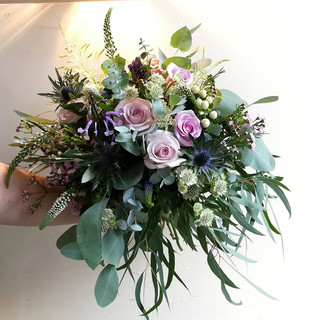 Wild Summer Wedding Bouquets ign of Rip