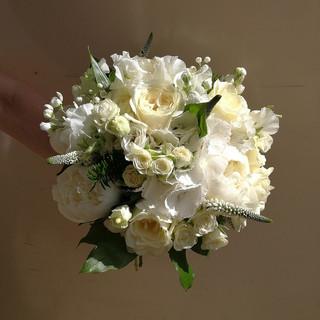 Gorgeous White Wedding Bouquet