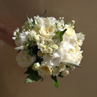 Gorgeous White Wedding Bouquet