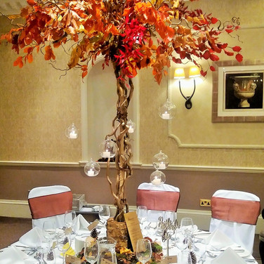 Autumn Wedding Tree