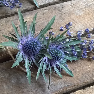 Natural country style Buttonhole