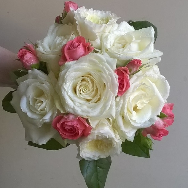 Pretty Rose Bridesmaid Bouquet