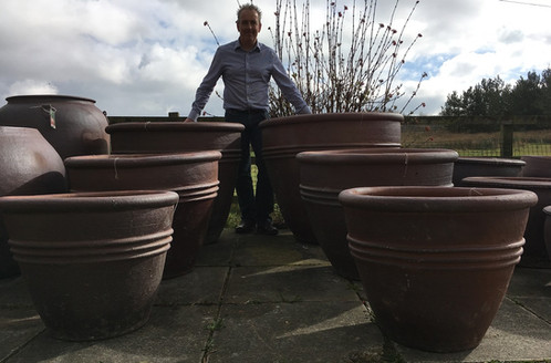 Giant Garden Pots Rustic giant 3 ring pot free uk delivery palm trees for sale huge garden pots for sale giant workwithnaturefo
