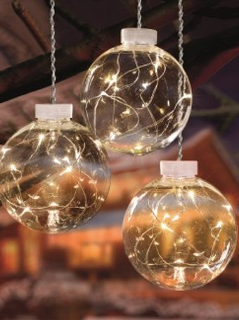 PREMIER PIN WIRE MULTI-ACTION GLOBE LIGHTS