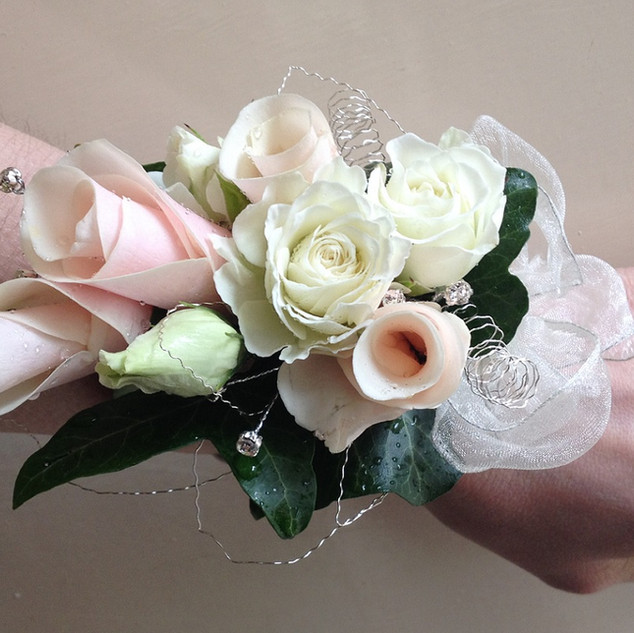 Bridesmaid's Wrist Corsage