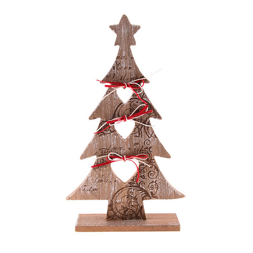 HIGHLAND NORDIC WOODEN CHRISTMAS TREE