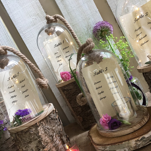 Country Style Wedding Table Plan.