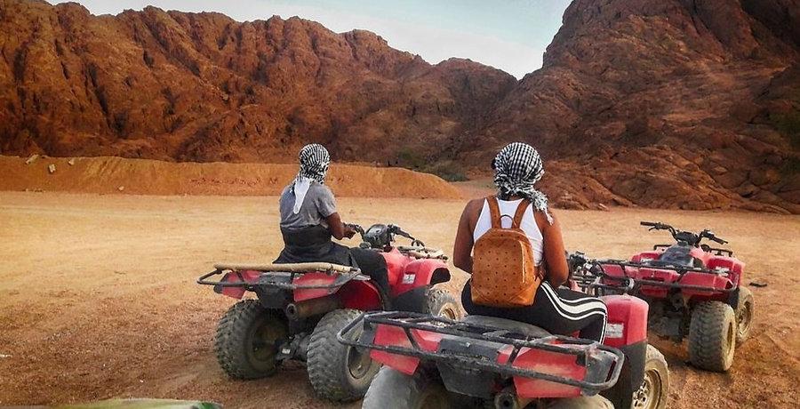 Sahara Park Quad Biking